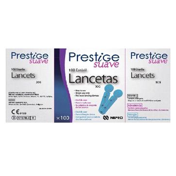 Lancetas PRESTIGE Fácil código 7435