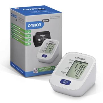 Monitor de Presion Arterial de Brazo Inflado Automatico Modelo HEM 7120