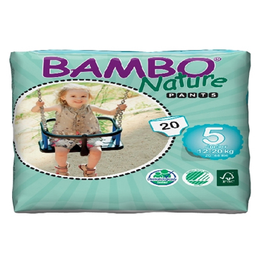 Panal Bambo Nature Junior PANTS 5 Codigo 10138