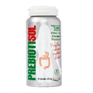 Prebiotisol, protege el sistema inmunológico, alimenta la flora intestinal y mantiene la salud digestiva